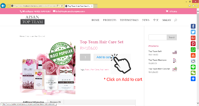 Top Team Hair Care Shampoo Purchase Method 02